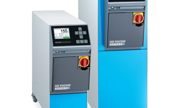 High-Temp HB-Therm TCUs from Frigel Use Water Instead of Oil